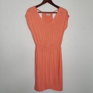 Buffalo David Bitton Dress, XS, Studded Shoulder